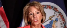 Secretary DeVos Flies Everywhere On Her Own Jet — And Her Own Dime