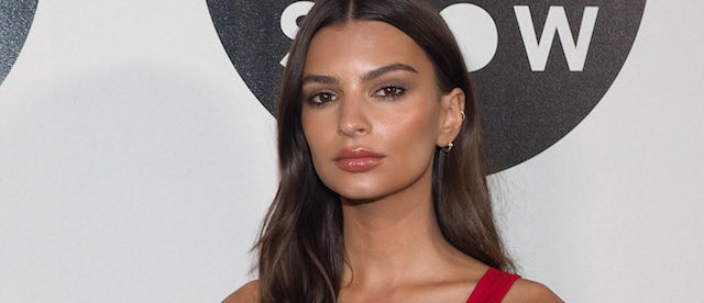 Emily Ratajkowski attends the Etam Live Show 2017 as part of the Paris Fashion Week Womenswear Spring/Summer 2018 in Paris. (Photo: Splash News)