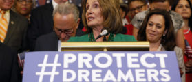 Pelosi Praises Dreamers' Parents, Says They 'Did A Great Thing'