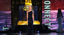 ATLANTIC CITY, NJ - SEPTEMBER 08: Miss Connecticut 2017 Eliza Kanner participates in Evening Wear challenge during Miss America 2018 - Third Night of Preliminary Competition at Boardwalk Hall Arena on September 8, 2017 in Atlantic City, New Jersey.  (Photo by Donald Kravitz/Getty Images for Dick Clark Productions)