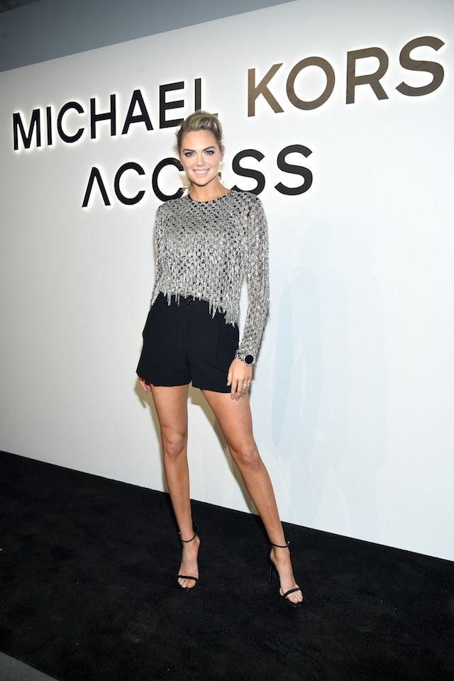 NEW YORK, NY - SEPTEMBER 13: Kate Upton attends Michael Kors and Google Celebrate new MICHAEL KORS ACCESS Smartwatches at ArtBeam on September 13, 2017 in New York City. (Photo by Dimitrios Kambouris/Getty Images for Michael Kors)