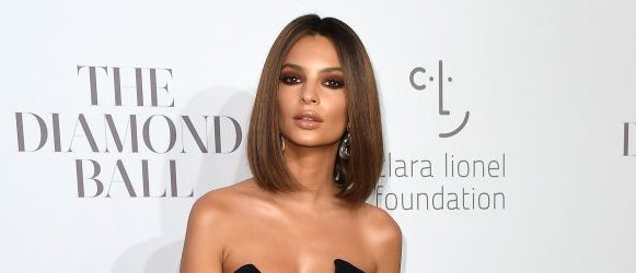 Emily Ratajkowski attends Rihanna's 3rd Annual Diamond Ball benefitting The Clara Lionel Foundation at Cipriani Wall Street on September 14, 2017 in New York City. / (photo: ANGELA WEISS/AFP/Getty Images)