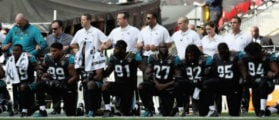 Football Fans Boo Players Protesting National Anthem