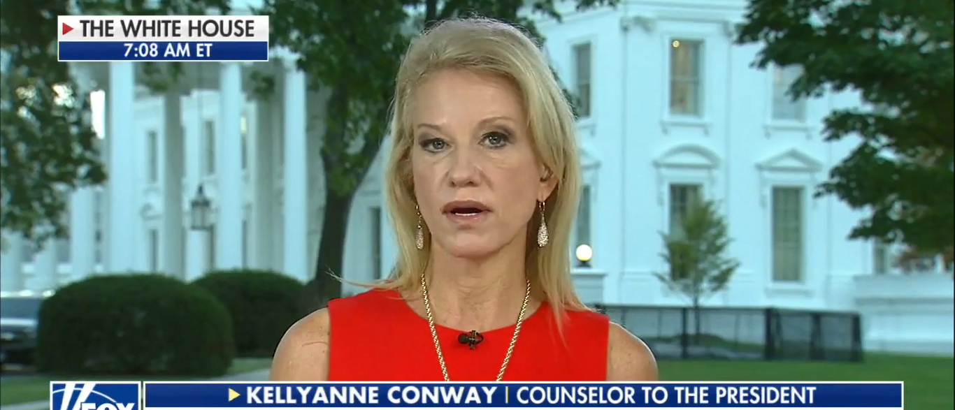 Kellyanne Conway Talks NFL And Trump On Fox and Friends 09-27-17 (Screenshot-Fox News)