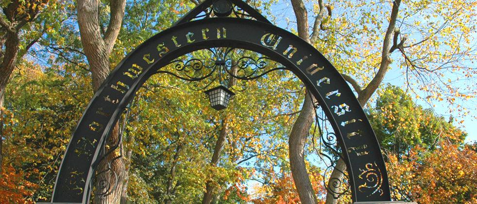 Northwestern's Arch (Wikimedia Commons)