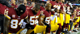 The Percentage Of NFL Players That Didn't Stand For The Flag Is Unacceptable