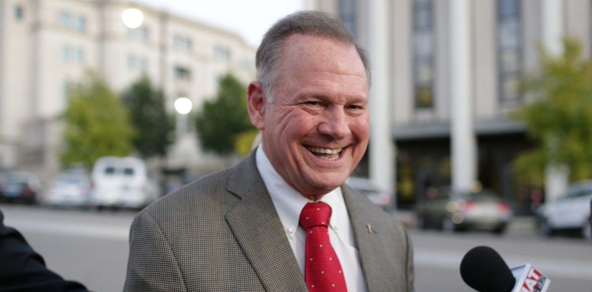 Republican candidate Roy Moore, who won the 2017 Alabama state Primary over Luther Strange .Montgomery, Alabama, U.S. September 26, 2017 REUTERS/Marvin Gentry
