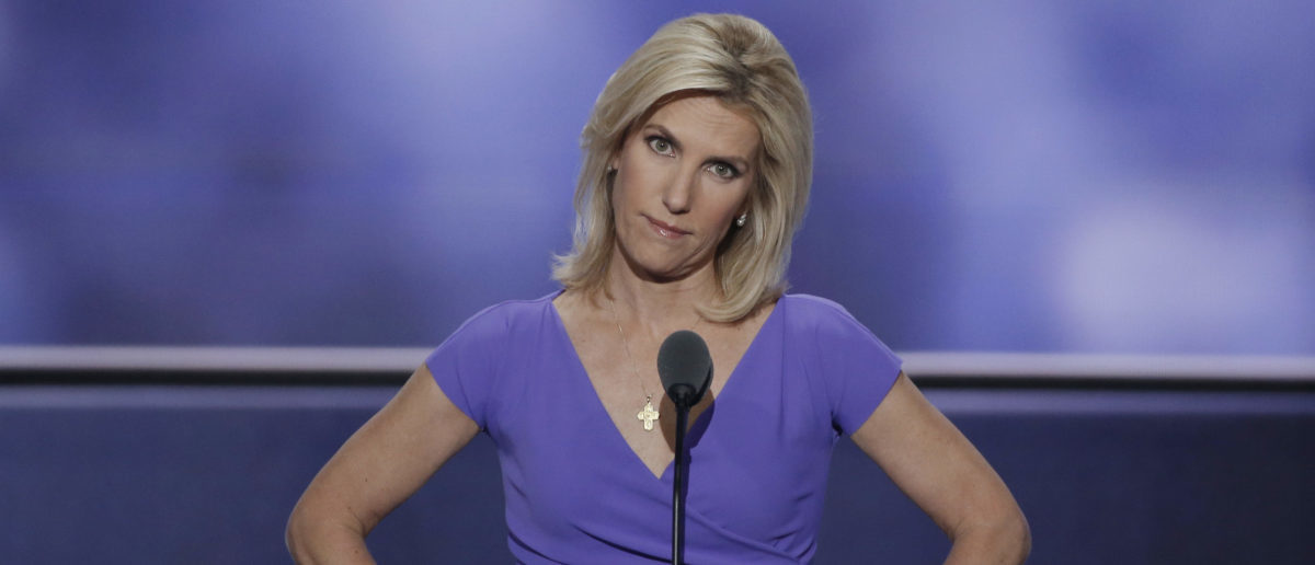 Conservative political commentator Laura Ingraham speaks during the third session of the Republican National Convention in Cleveland, Ohio, U.S. July 20, 2016.  REUTERS/Mike Segar - HT1EC7L01YULE