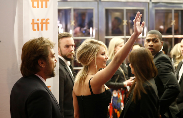 "Actor Jennifer Lawrence arrives on the red carpet for the film ""Mother!"" at the Toronto International Film Festival (TIFF), in Toronto, Canada, September 10, 2017. REUTERS/Mark Blinch - RC1CB8EA19A0"