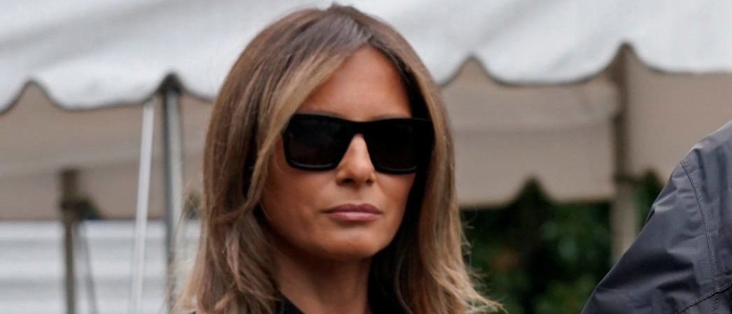 U.S. President Donald Trump speaks to reporters as he and First Lady Melania Trump depart the White House in Washington on their way to view storm damage in Florida, U.S., September 14, 2017. REUTERS/Kevin Lamarque - RC1C20D06B00