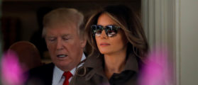 PHOTOS: Melania Rocks UN General Assembly In Pant Suit