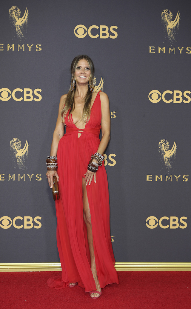 69th Primetime Emmy Awards ñ Arrivals ñ Los Angeles, California, U.S., 17/09/2017 - Heidi Klum. REUTERS/Mike Blake - HP1ED9H1SLKO6
