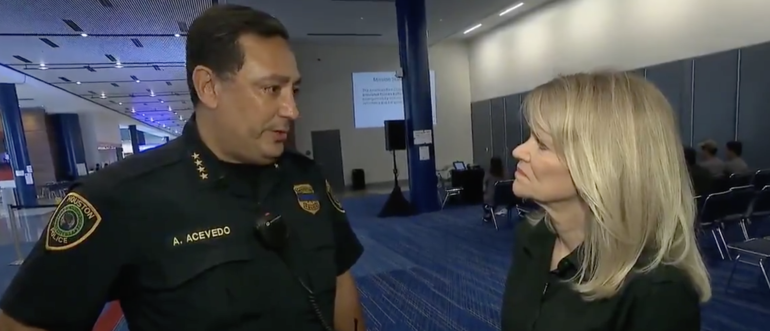 Police Chief Art Acevedo speaks to Martha Raddatz about Hurricane Harvey. (Twitter screenshot/This Week ABC)