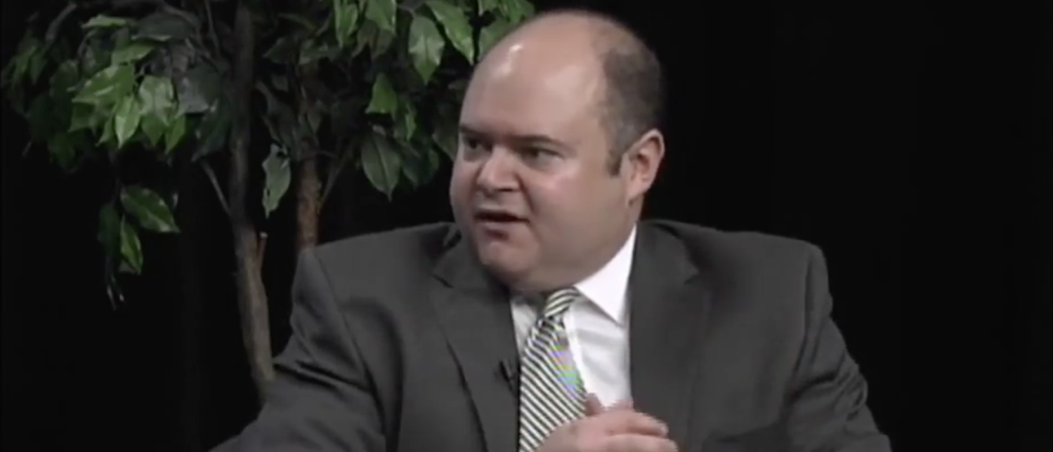 Minnesota Supreme Court Justice David Stras speaks on 'Access to Democracy' in May 2015. (YouTube screenshot/ATDinMN)