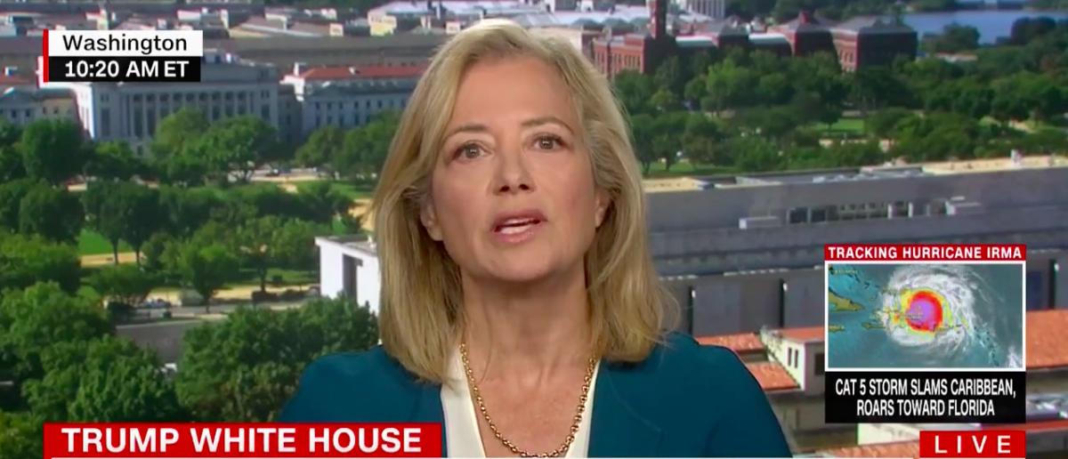 Screen Shot Hilary Rosen (CNN: Sep 7, 2017)