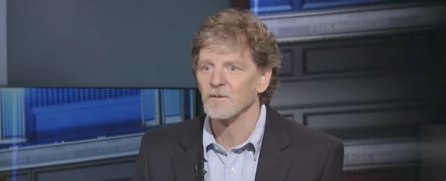 Jack Phillips, a Christian baker who declined to produce a cake for an LGBT wedding. (YouTube screenshot/Fox Business)
