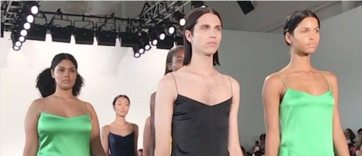 NYFW (Credit: Screenshot/Instagram Video Christian Siriano)