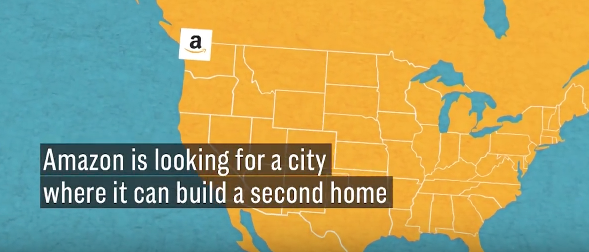 Video about where Amazon is looking to go. (Youtube screenshot/CNBC)