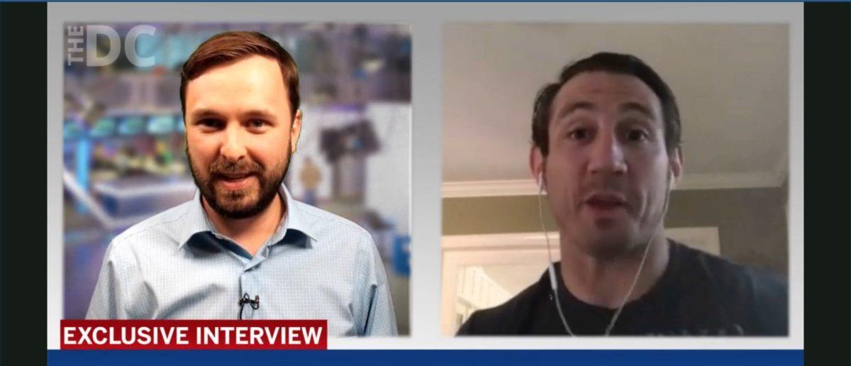 Tim Kennedy (Credit: Screenshot/Daily Caller Video)
