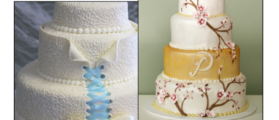 Pictures of cakes in a Supreme Court amicus brief. Used with permission of Baker Botts LLP.