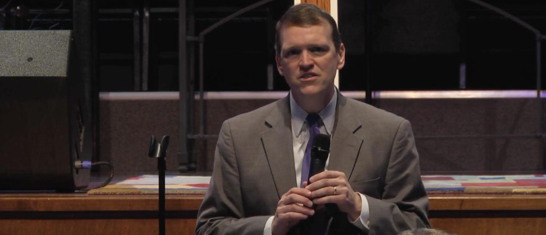 Jeff Mateer speaks in Texas in 2015. (Screenshot/Vimeo)