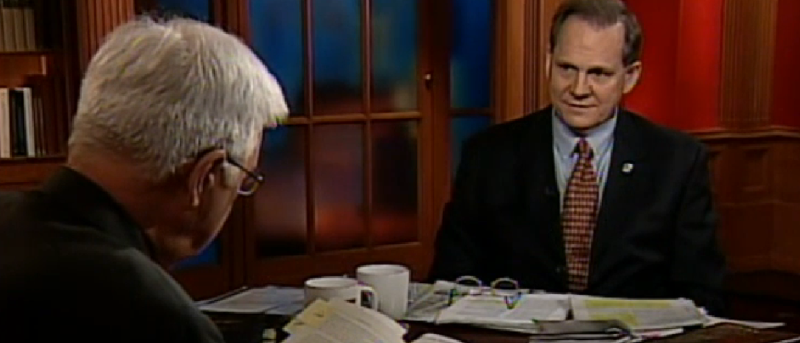 CSPAN screenshot/ After Words 2005 Roy Moore screenshot