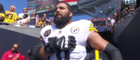Former Army Ranger Is Only Steelers Player To Stand For National Anthem [VIDEO]