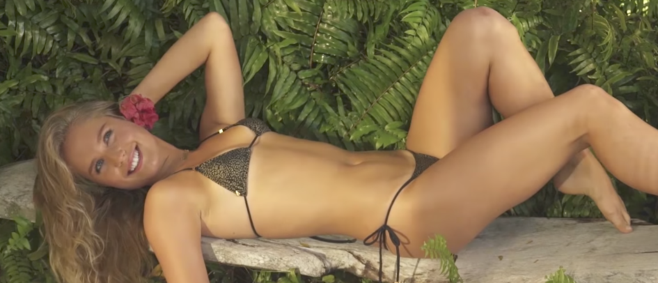 (Photo credit: screenshot/YouTube Sports Illustrated Swimsuit)