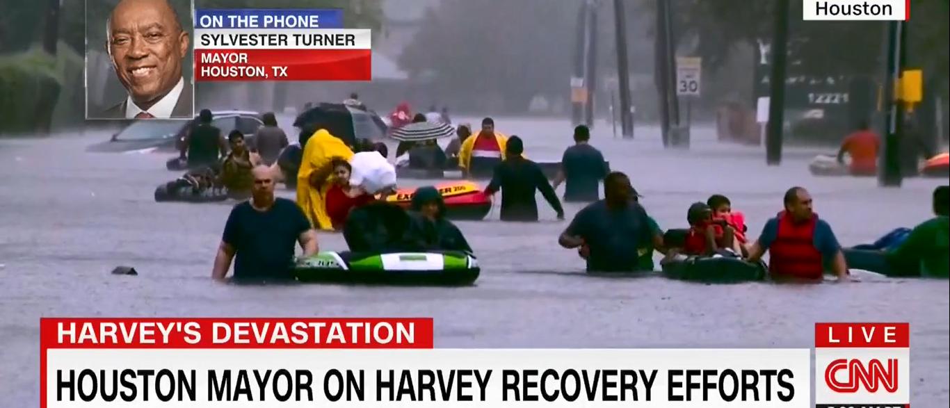 Houston Mayor Sylvester Turner CNN New Day 09-01-17