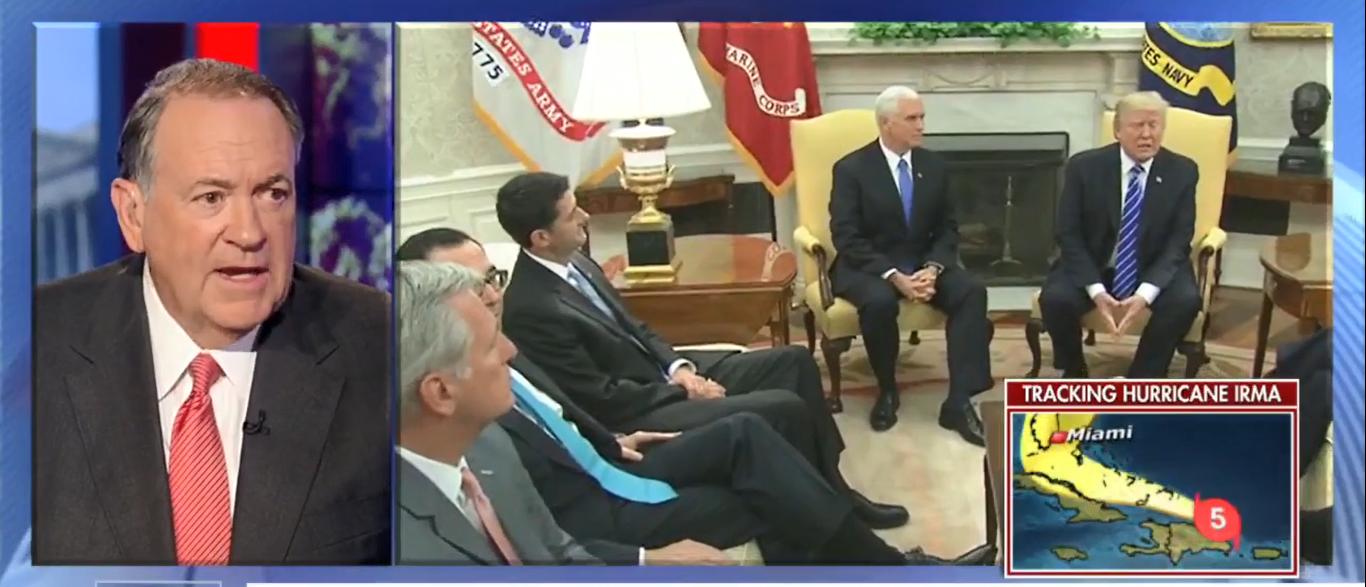 Mike Huckabee (Screenshot/Fox News)
