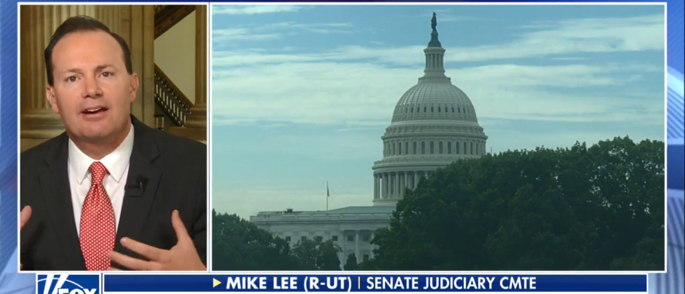 Mike Lee (Screenshot/Fox News)