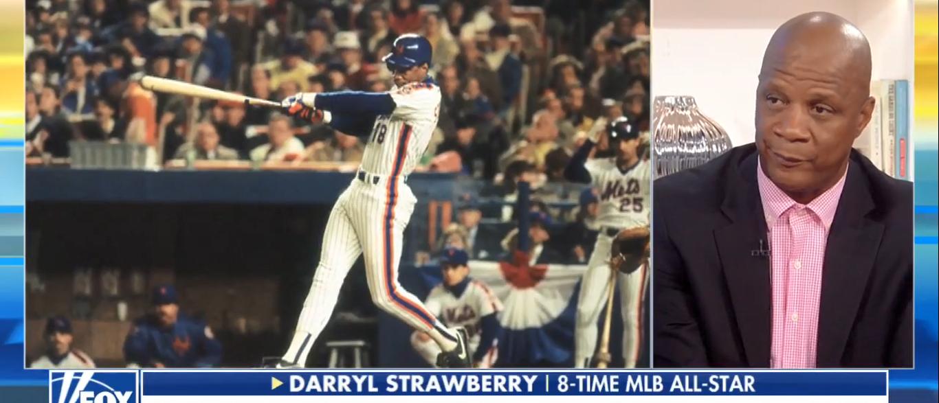 Darryl Strawberry (Screenshot/Fox News)