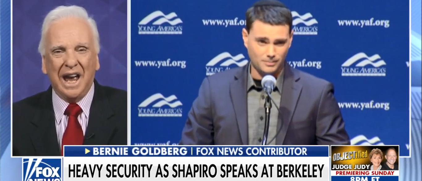 Bernie Goldberg (Screenshot/Fox News)