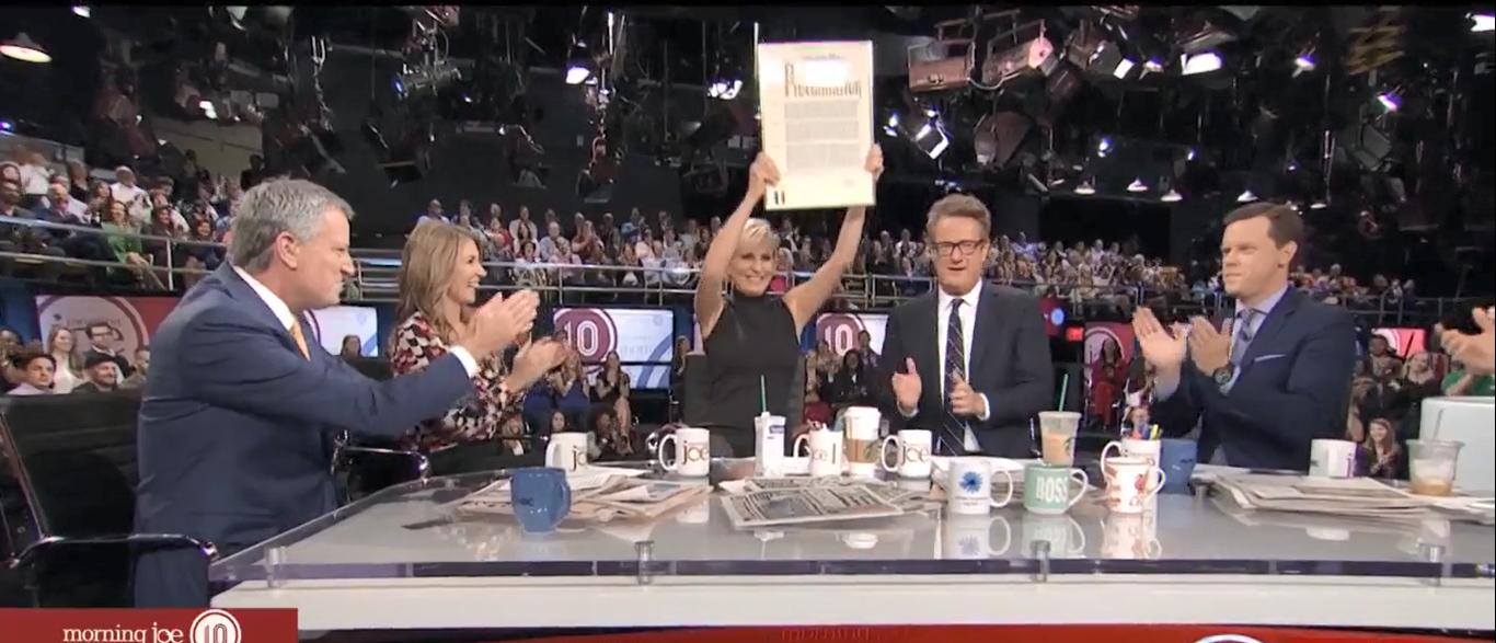 Bill de Blasio (Screenshot/MSNBC)