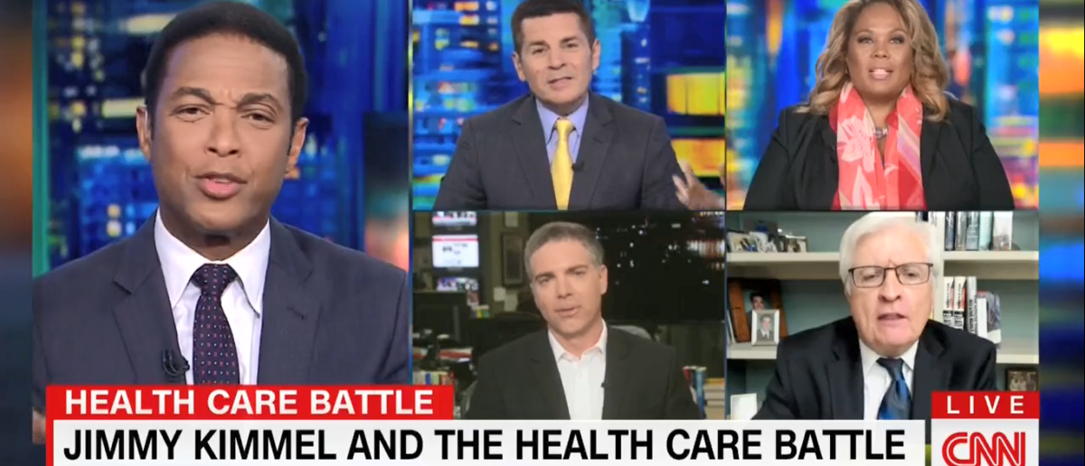 "A heated Obamacare debate took place on ""CNN Tonight"" with Don Lemon. (Screenshot/CNN)"