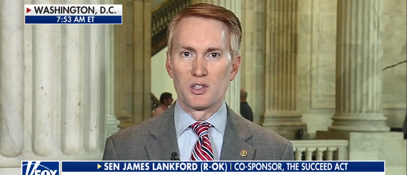 Sen. James Lankford On Fox and Friends Talking DACA 09-27-17 (Screenshot-Fox News)