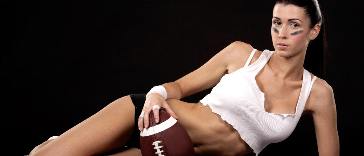 Sexy Football (Credit: Shutterstock)