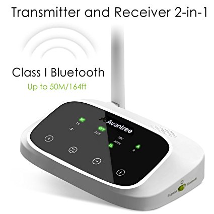 Normally $70, this bluetooth transmitter/receiver is 36 percent off today (Photo via Amazon)