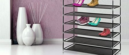 Can fit up to 50 pairs of shoes (Photo via Amazon)