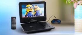 You can watch Minions on this DVD player (Photo via Amazon)
