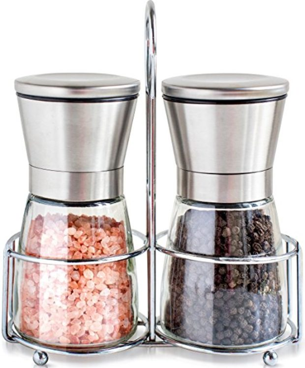 Normally $22, these salt and pepper shakers are 27 percent off today (Photo via Amazon)