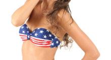 A girl, sunglasses, and her bikini. This is America. (photo: Shutterstock)