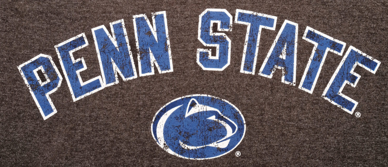 The Pennsylvania State University logo. [Shutterstock - burnel1]