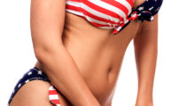 The greatest invention is probably an red, white and blue patriotic bikini. (photo: Shutterstock)
