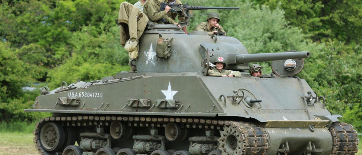 Tank (Credit: Shutterstock)