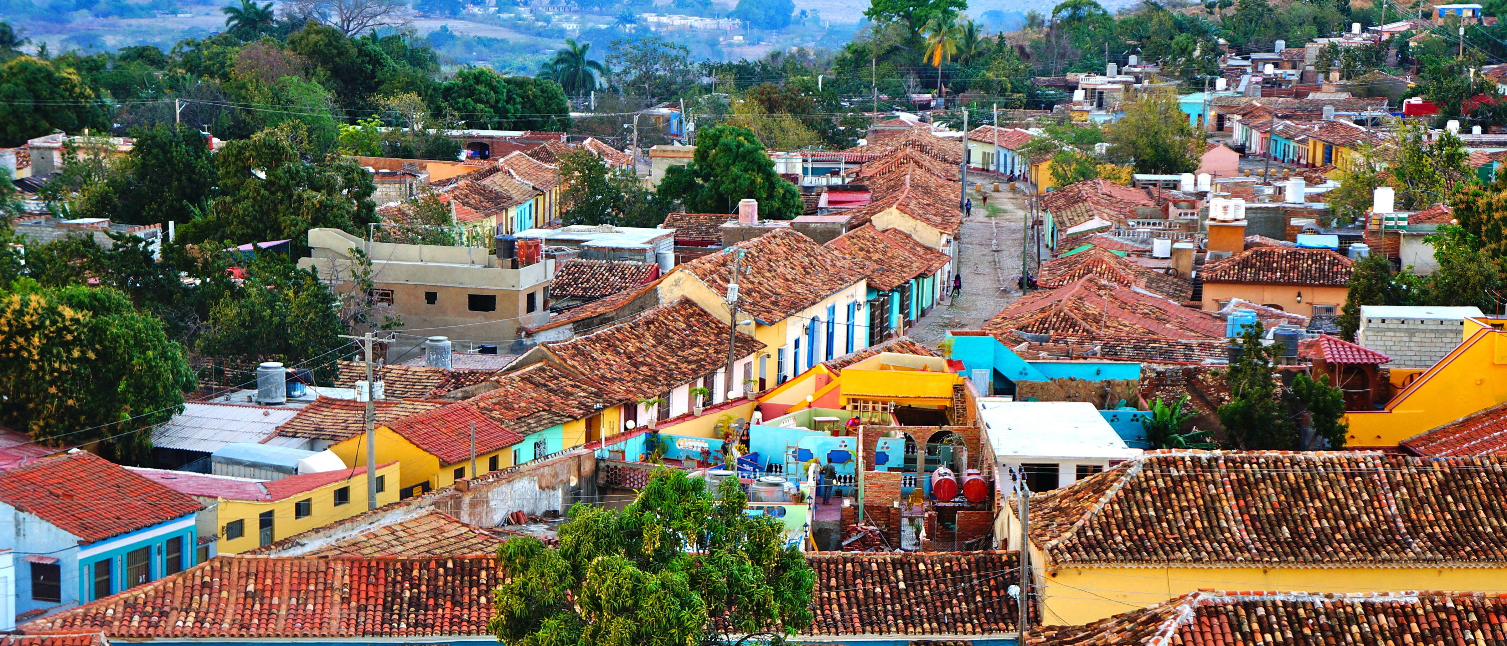 Shutterstock Cuban rooftops