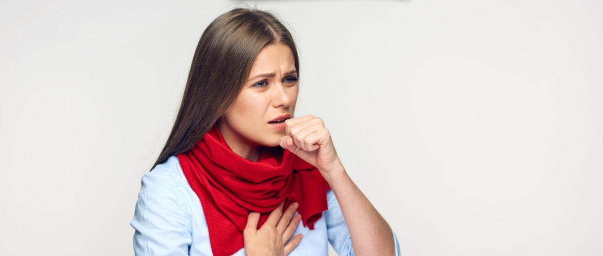 A sick but fashionable teacher (Shutterstock/ADS Portrait)
