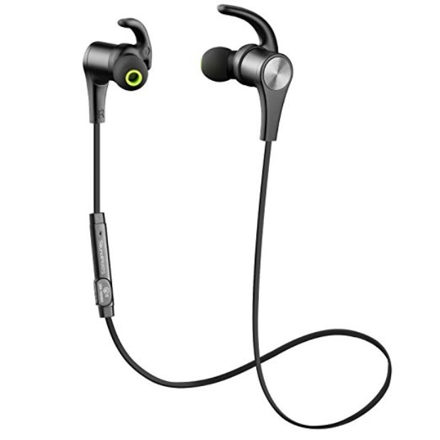 Normally $50, these bluetooth headphones are 60 percent off today (Photo via Amazon)