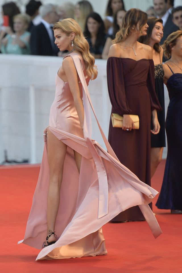 "Stella Maxwell and Michelle Pfeiffer attend the ""Mother"" premiere at the 74th Venice Film Festival in Venice, Italy. <P> Pictured: Stella Maxwell <B>Ref: SPL1569329 060917 </B><BR /> Picture by: Anna Maria Tinghino/Splash News"