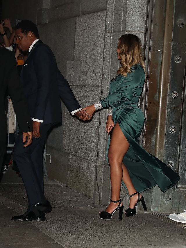 Beyonce and Jay - Z leave Rihanna's Diamond Ball in New York City. <P> Pictured: Beyonce and Jay - Z leave Rihanna Diamond Ball in NYC <B>Ref: SPL1579046 150917 </B><BR /> Picture by: Pap Nation / Splash News